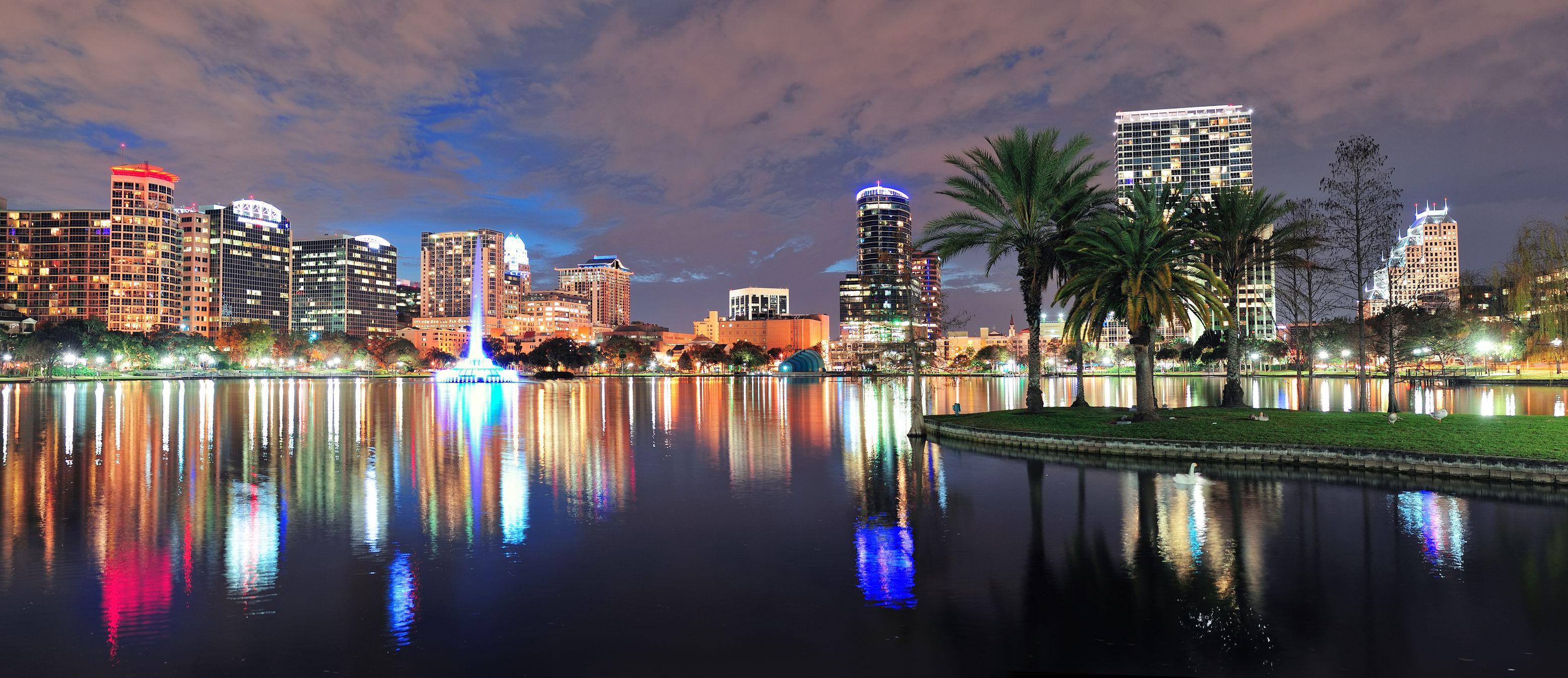Orlando-skyline-panorama